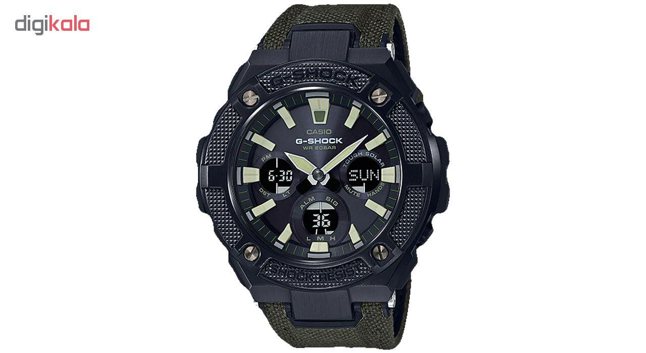 خرید ساعت مچی عقربه ای مردانه کاسیو GST-S130BC-1A3DR   ساعت مچی