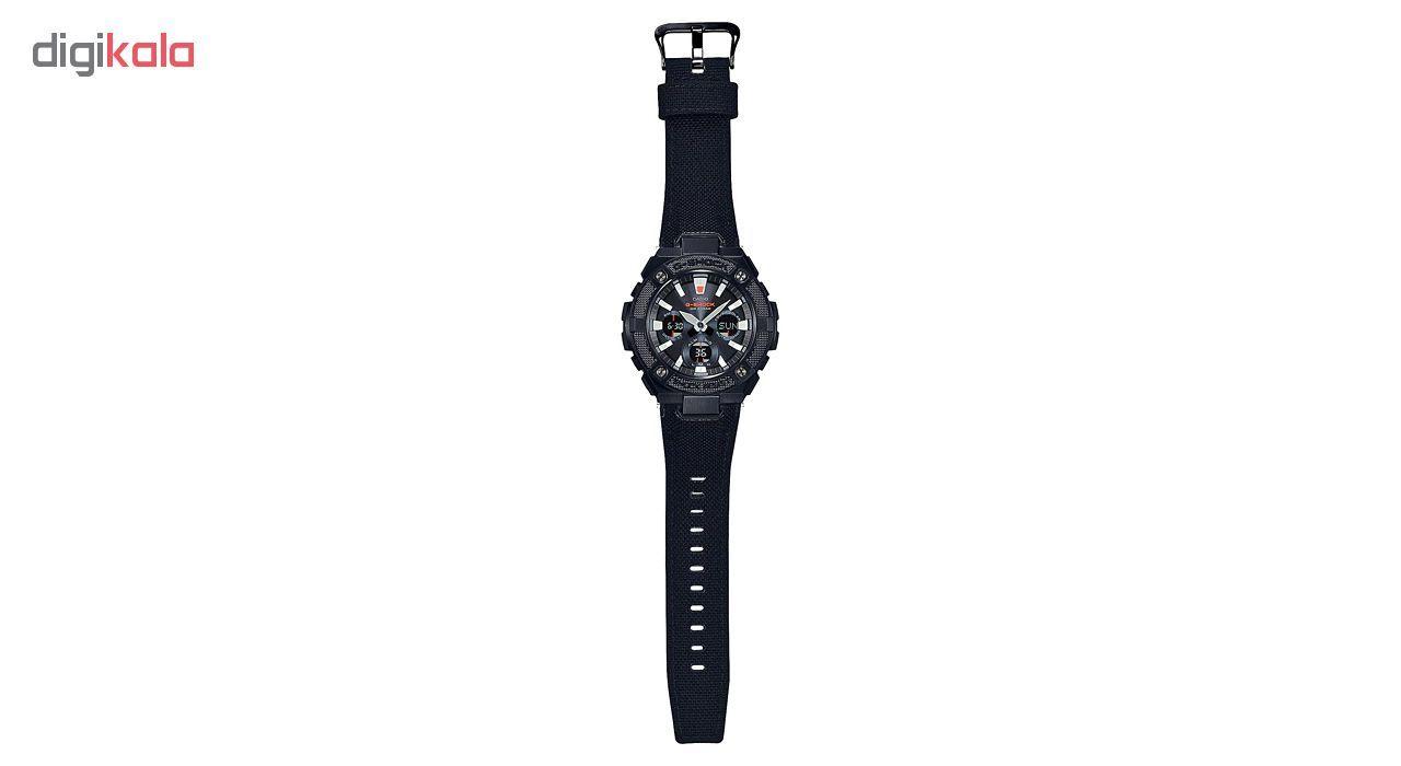 ساعت مچی عقربه ای مردانه کاسیو GST-S130BC-1ADR -  - 2