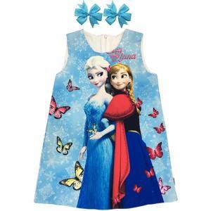 ست 2 تکه لباس دخترانه مدل السا و آنا کد 001