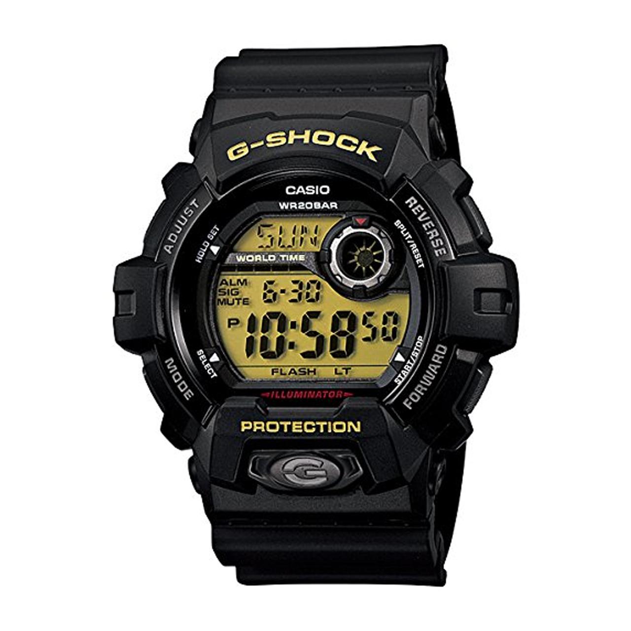 ساعت مچی دیجیتالی مردانه کاسیو جی شاک G-8900-1DR 100