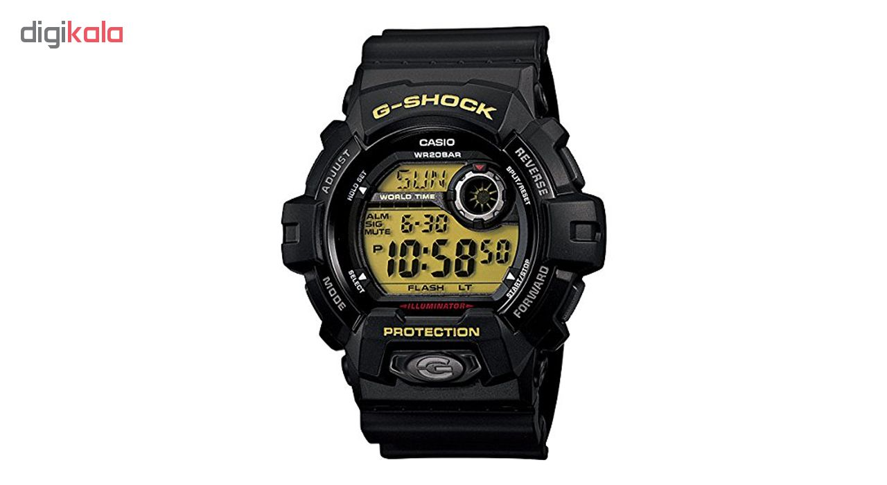 ساعت مچی دیجیتالی مردانه کاسیو جی شاک G-8900-1DR