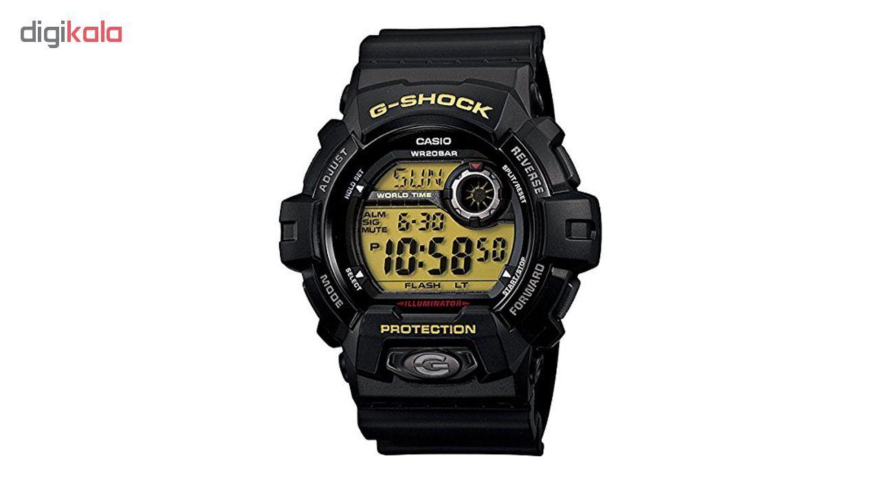 ساعت مچی دیجیتالی مردانه کاسیو جی شاک G-8900-1DR -  - 1