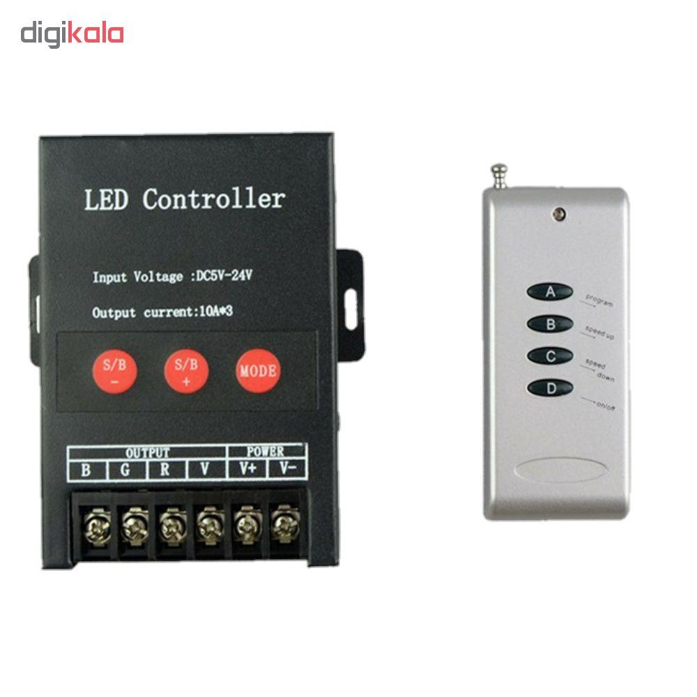ریموت کنترل مدل 30A-RGB