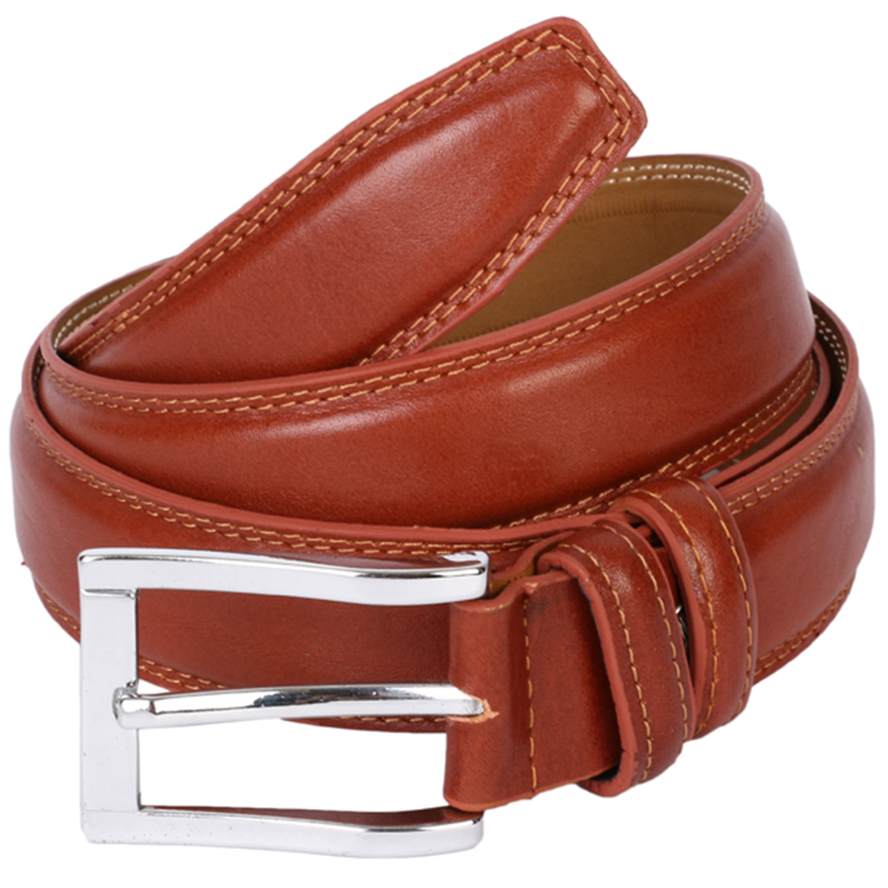 ROYALCHARM leather Men's belt, code M40-Brown