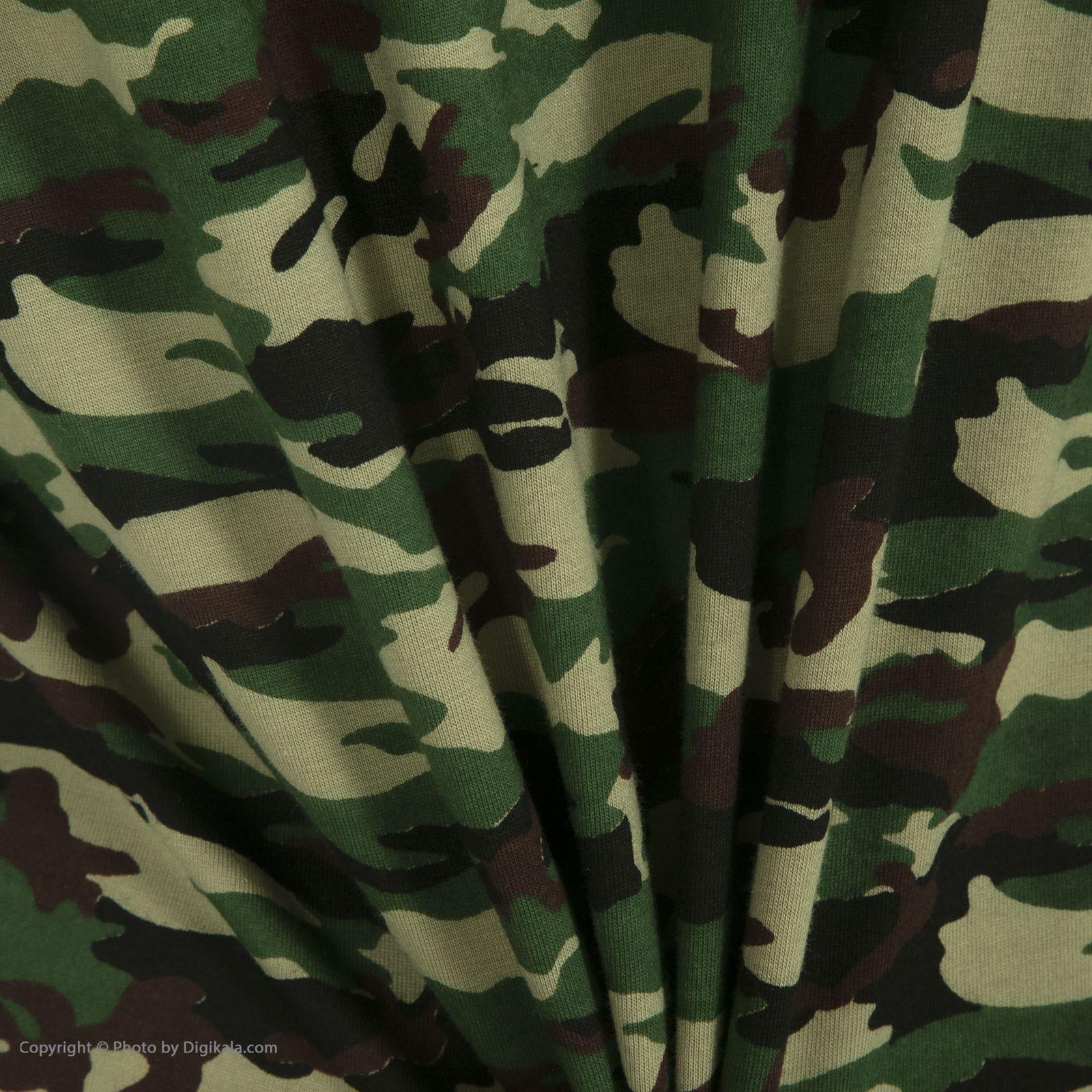 ست تی شرت و شلوارک راحتی مردانه مادر مدل 2041108-49 -  - 10