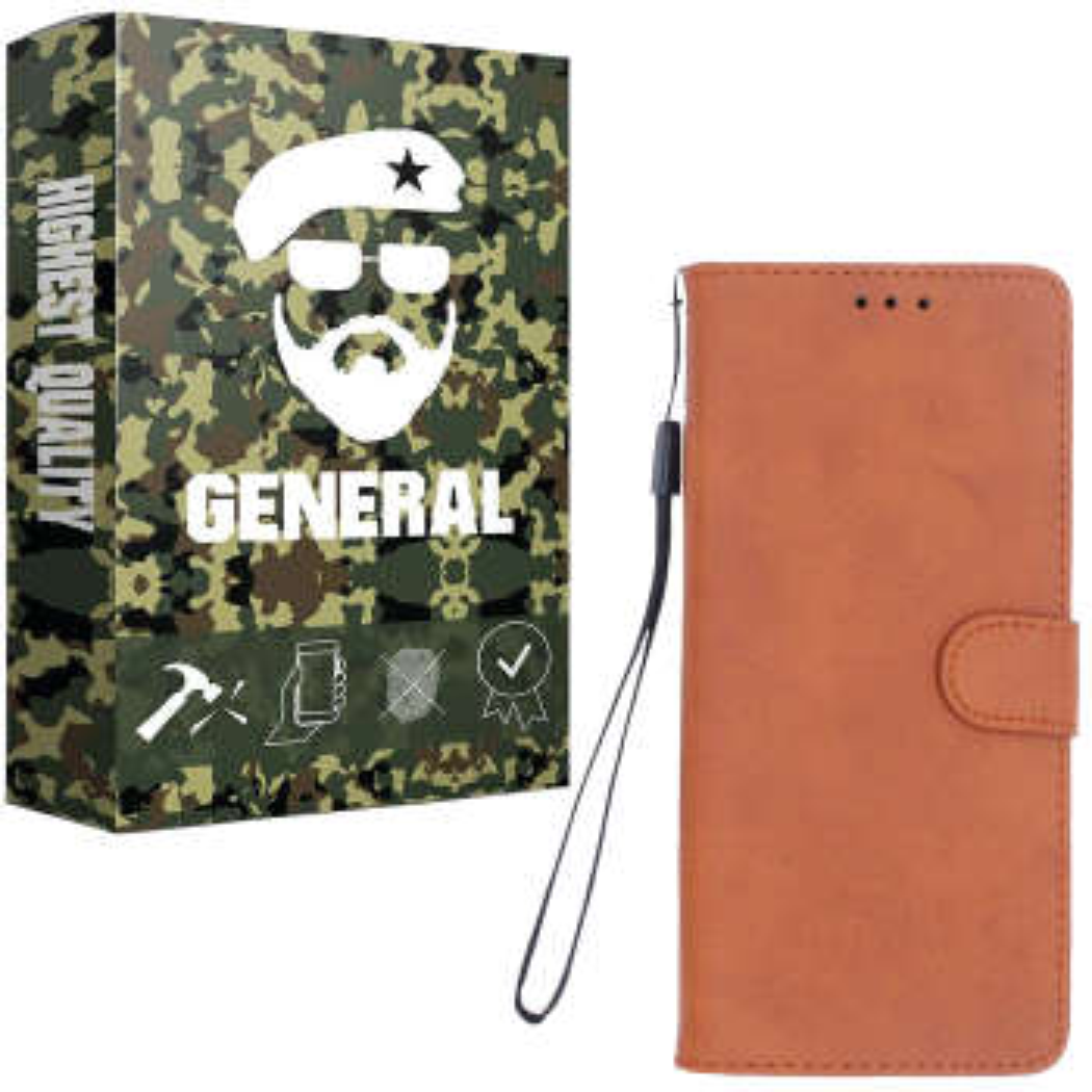 کیف کلاسوری ژنرال مدل K21 مناسب برای گوشی موبایل   هوآوی Nova 5T