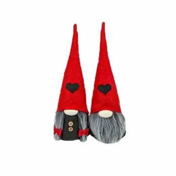 عروسک طرح لیلی پوت مدل دختر و پسر کد A01 ارتفاع 20 سانتی متر