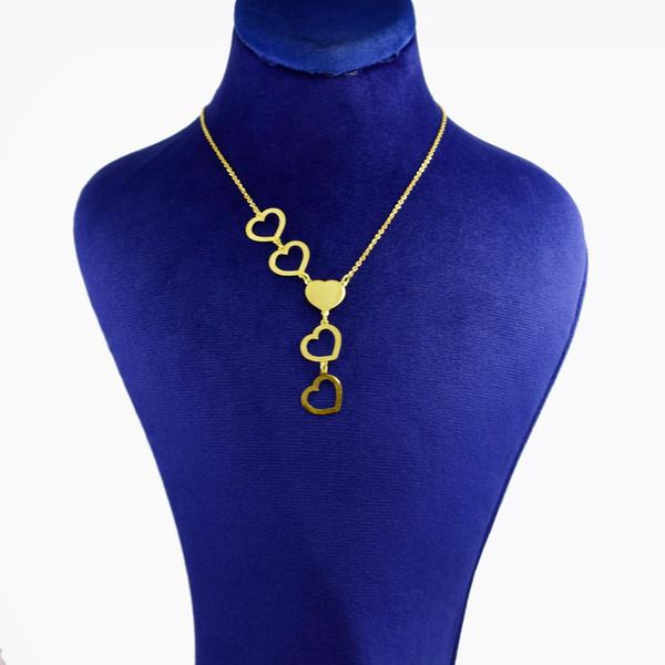 گردنبند طلا 18 عیار زنانه کانیار گالری کد 6915