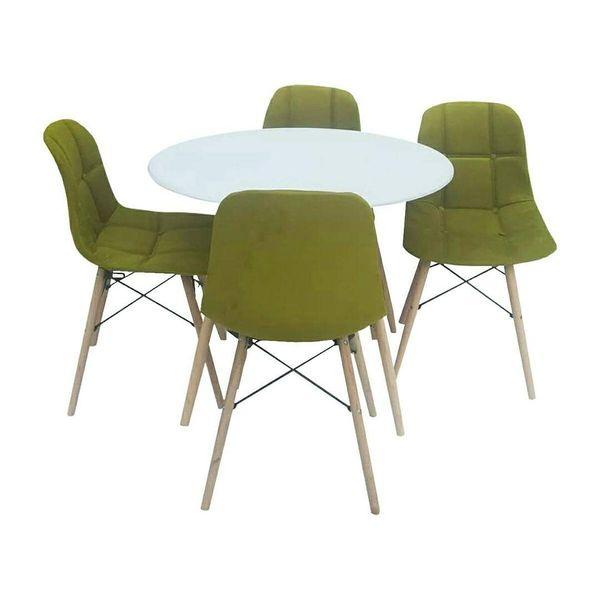 میز و صندلی ناهارخوری 4 نفره مدل D12345