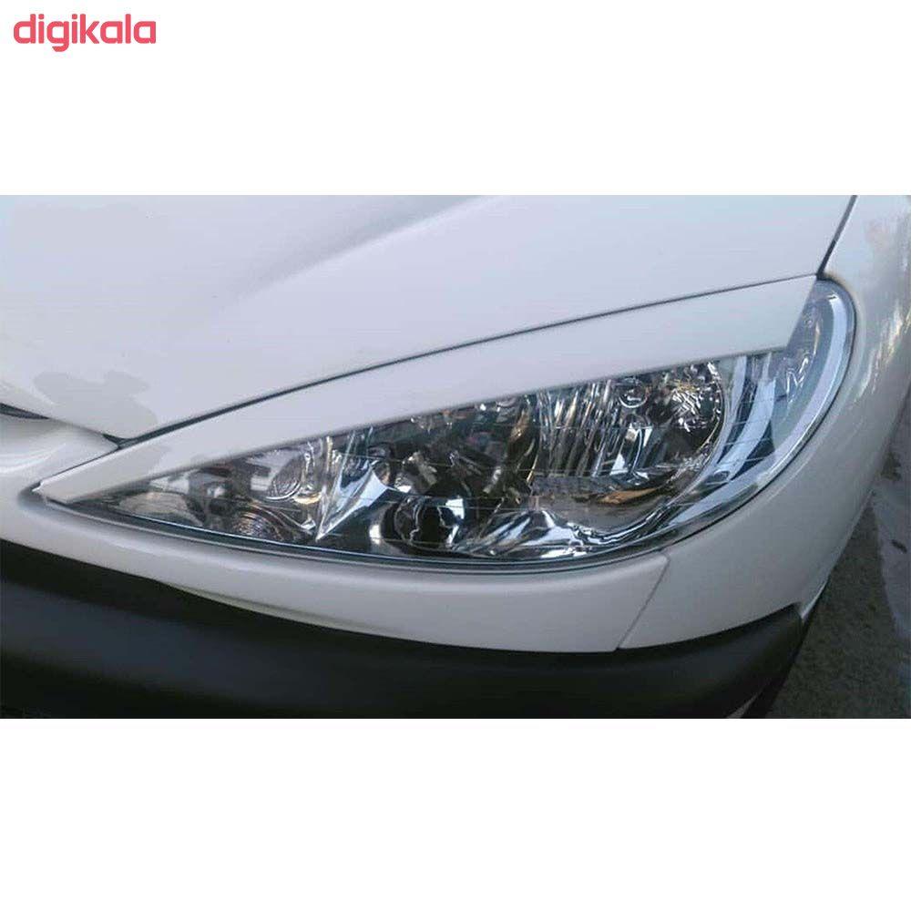 ابرویی چراغ جلو خودرو  مدل farh مناسب برای پژو 206 بسته دو عددی  main 1 1