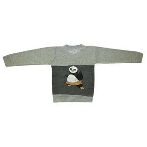 تی شرت آستین بلند پسرانه مدل پاندا کد 676