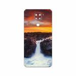 برچسب پوششی ماهوت مدل Waterfall مناسب برای گوشی موبایل شیائومی Redmi Note 9