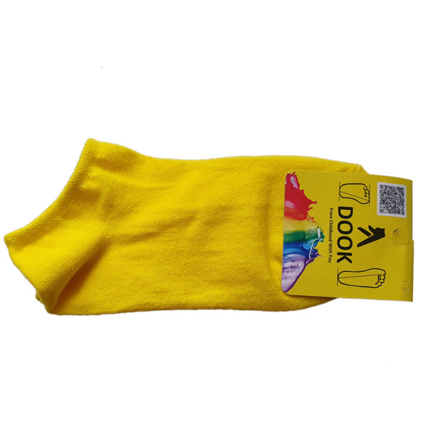 جوراب زنانه دوک کد SS_Y رنگ زرد