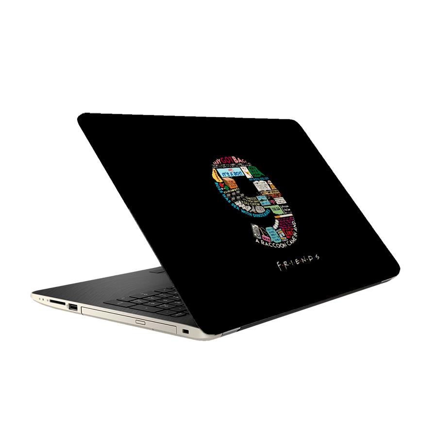 استیکر لپ تاپ فلوریزا طرح سریال فرندز مدل ML238 مناسب برای لپ تاپ 15.6 اینچ