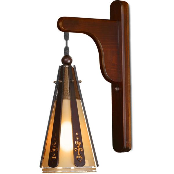 چراغ دیواری دارکار مدل کلاب کد 476