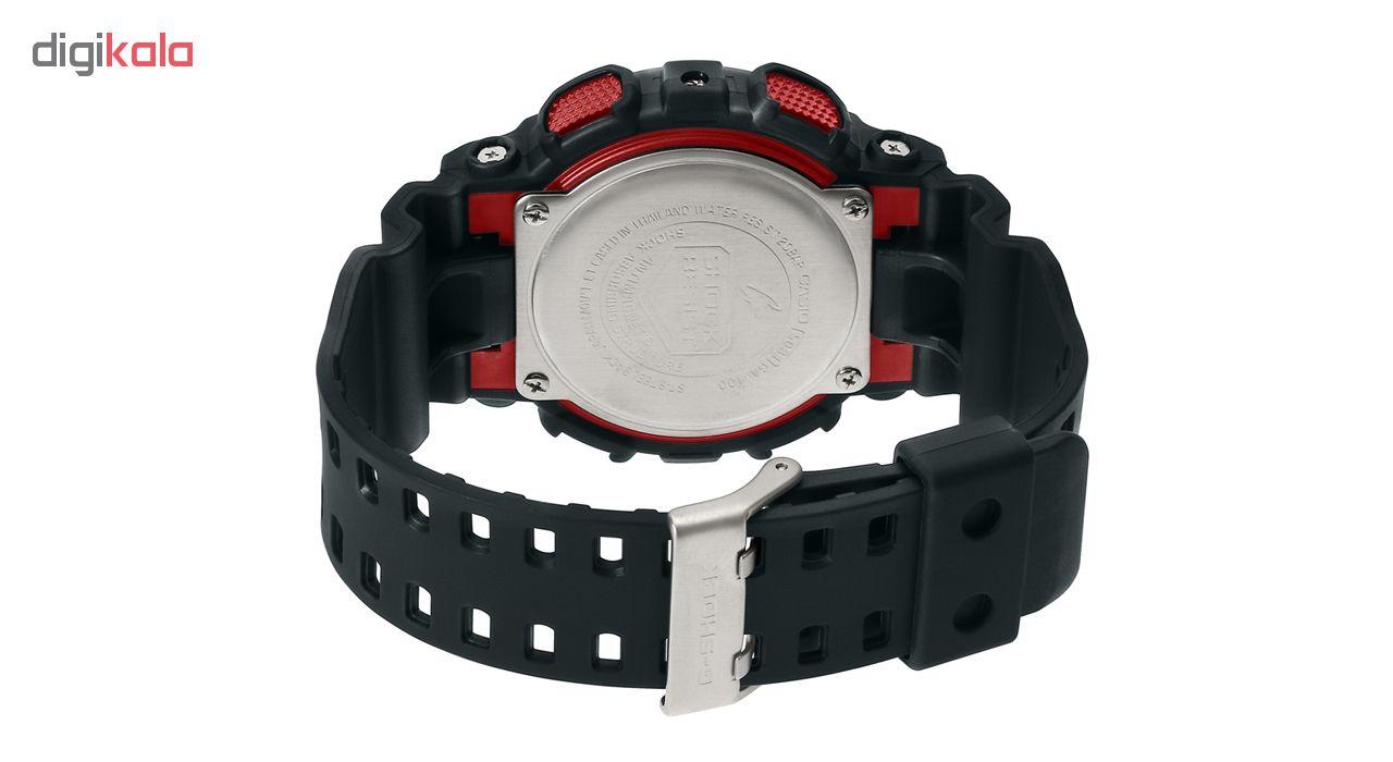 کد تخفیف                                      ساعت مچی عقربه ای مردانه کاسیو جی شاک GA-100-1A4DR