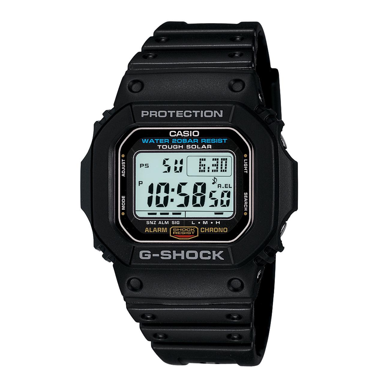 ساعت مچی دیجیتالی مردانه کاسیو جی شاک مدل G-5600E-1DR