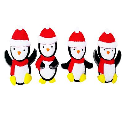 آویز  کودک هیاهو  مدل  کریسمس مجموعه 4 عددی