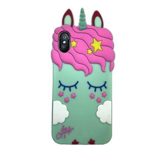 کاور مدل Unicorn مناسب برای گوشی موبایل اپل iPhone X/Xs