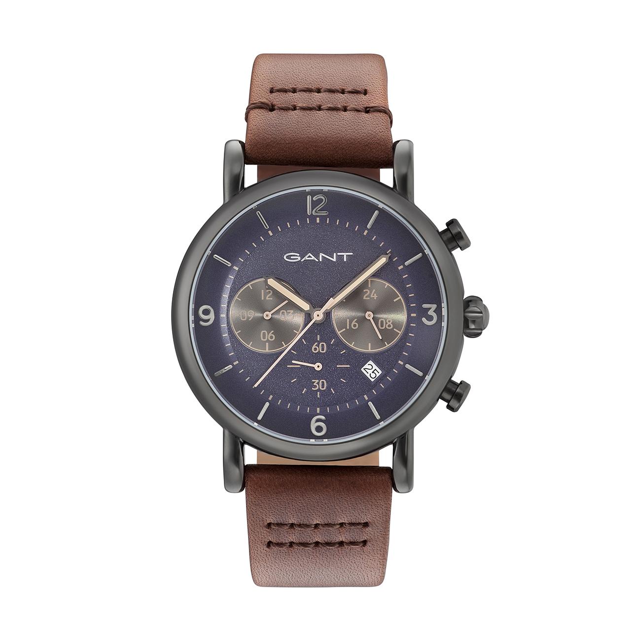 ساعت مچی عقربه ای مردانه گنت مدل GW007007