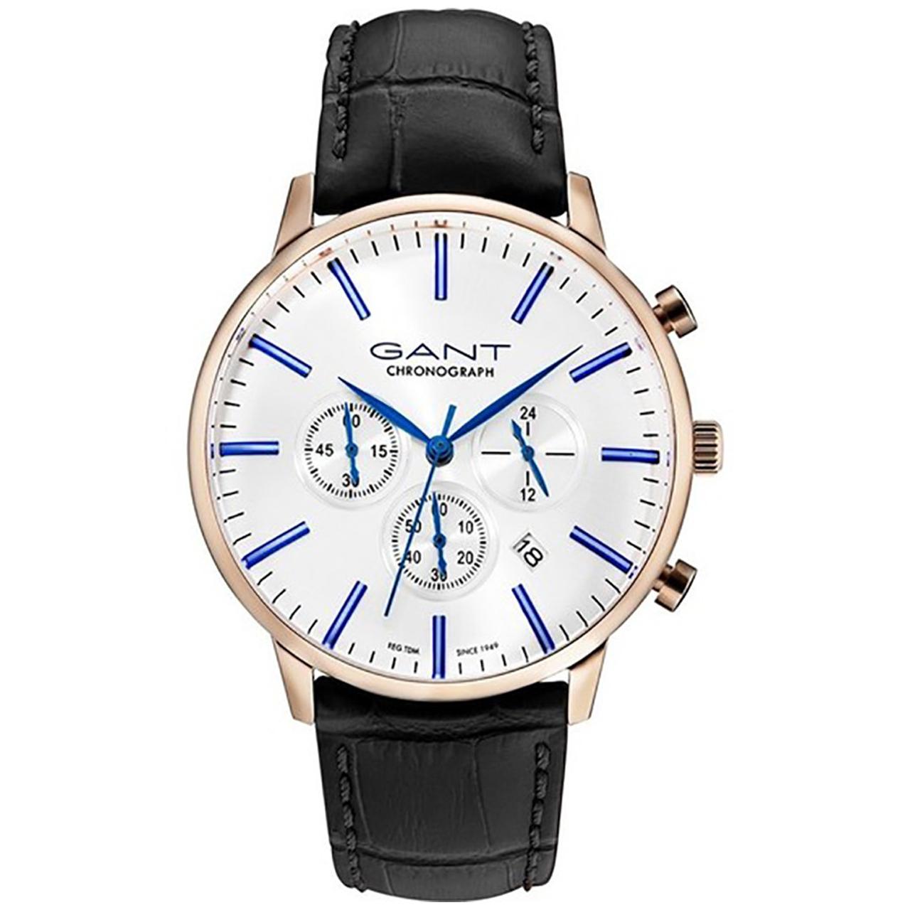 ساعت مچی عقربه ای مردانه گنت مدل GW024005