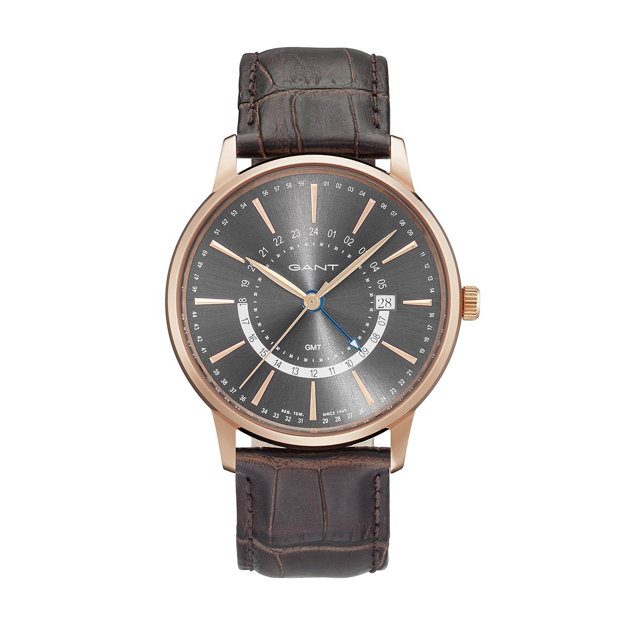 ساعت مچی عقربه ای مردانه گنت مدل GW026004