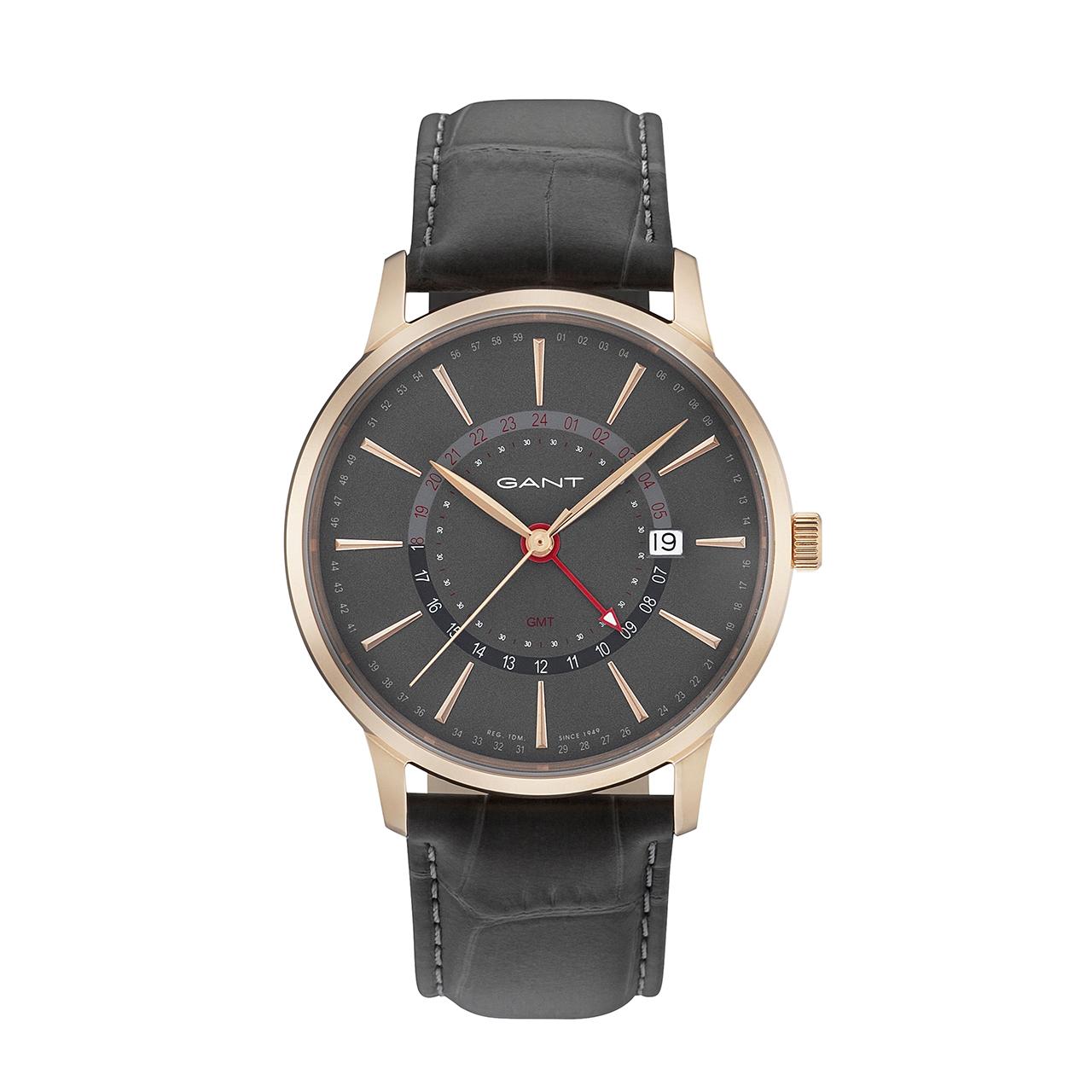 ساعت مچی عقربه ای مردانه گنت مدل GW026006
