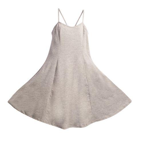لباس راحتی زنانه مدل GRAY_001  رنگ طوسی کم رنگ دامن کلوش