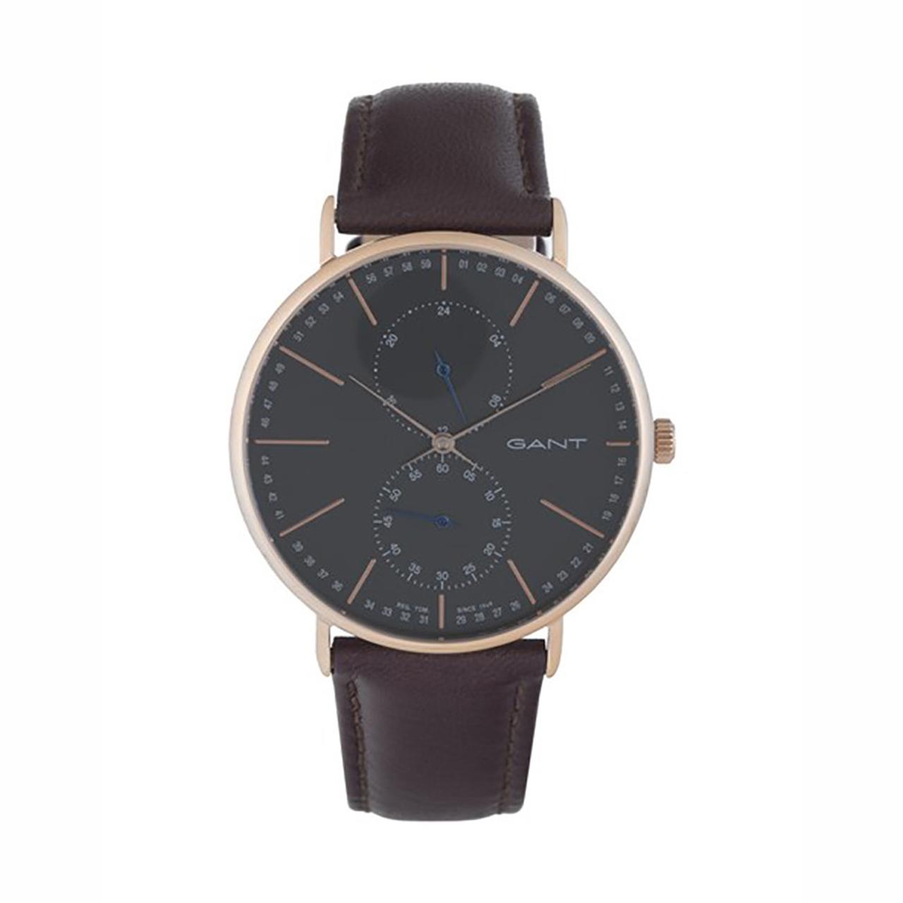 ساعت مچی عقربه ای مردانه گنت مدل GW036005