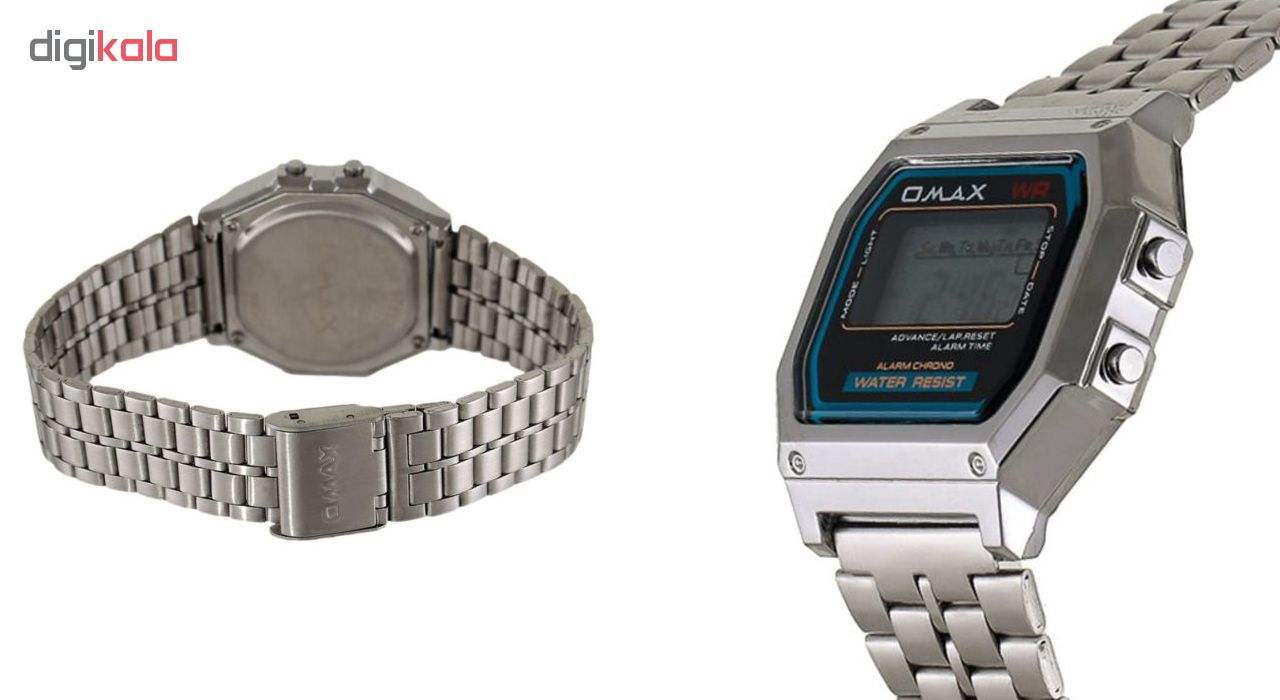 ساعت مچی دیجیتال اوماکس مدل m283 -  - 4