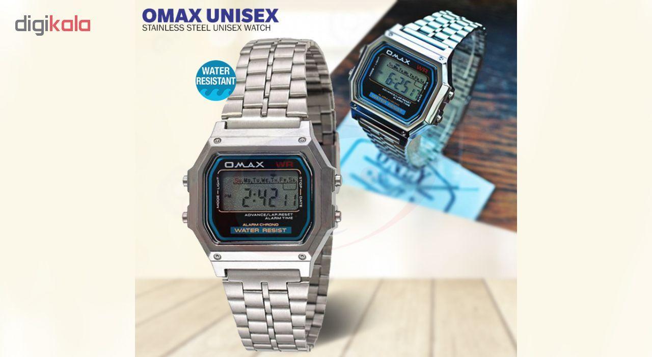 ساعت مچی دیجیتال اوماکس مدل m283 -  - 5