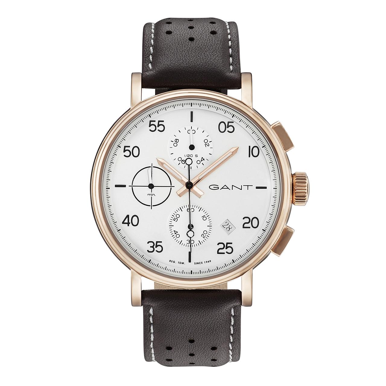ساعت مچی عقربه ای مردانه گنت مدل GW037002
