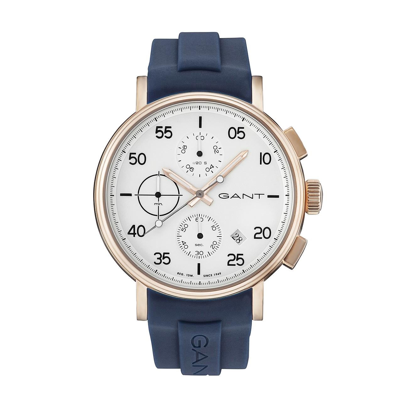 ساعت مچی عقربه ای مردانه گنت مدل GW037005