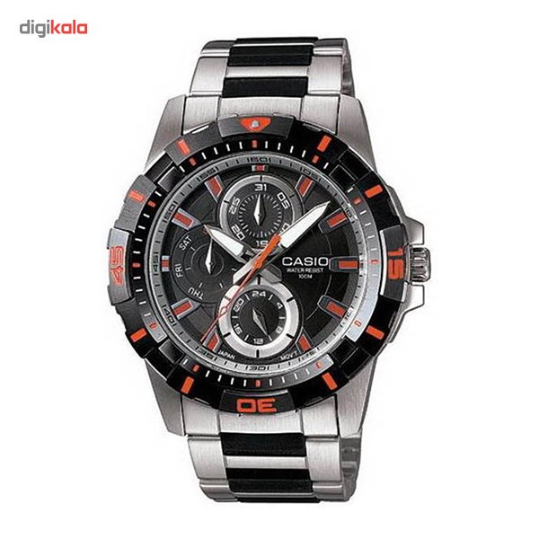 خرید ساعت مچی عقربه ای مردانه کاسیو MTD-1071D-1A2VDF