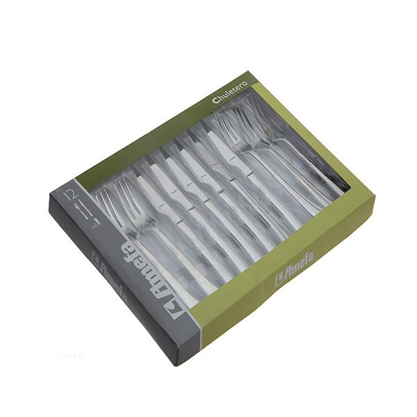 سرویس  12 پارچه کارد و چنگال آمفا مدل Chuletero