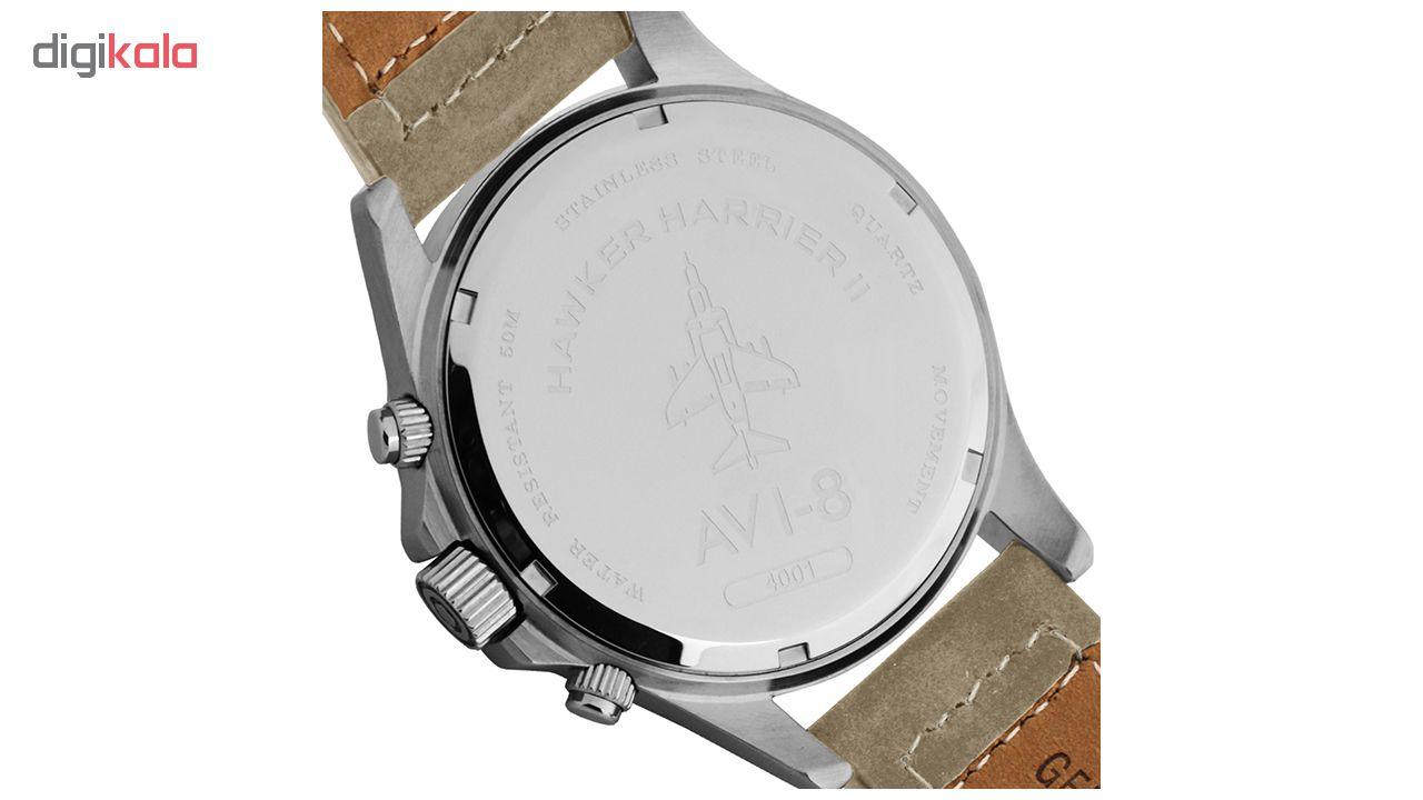 ساعت مچی عقربه ای مردانه ای وی-8 مدل AV-4001-03