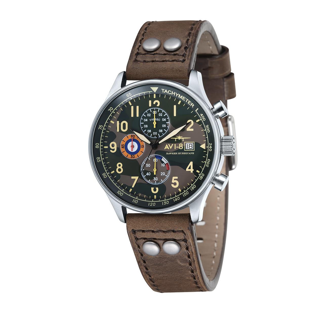 ساعت مچی عقربه ای مردانه ای وی-8 مدل AV-4011-09