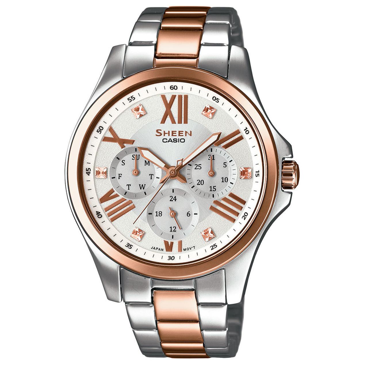 خرید ساعت مچی عقربه ای زنانه کاسیو مدل SHE-3806SPG-7AUDR