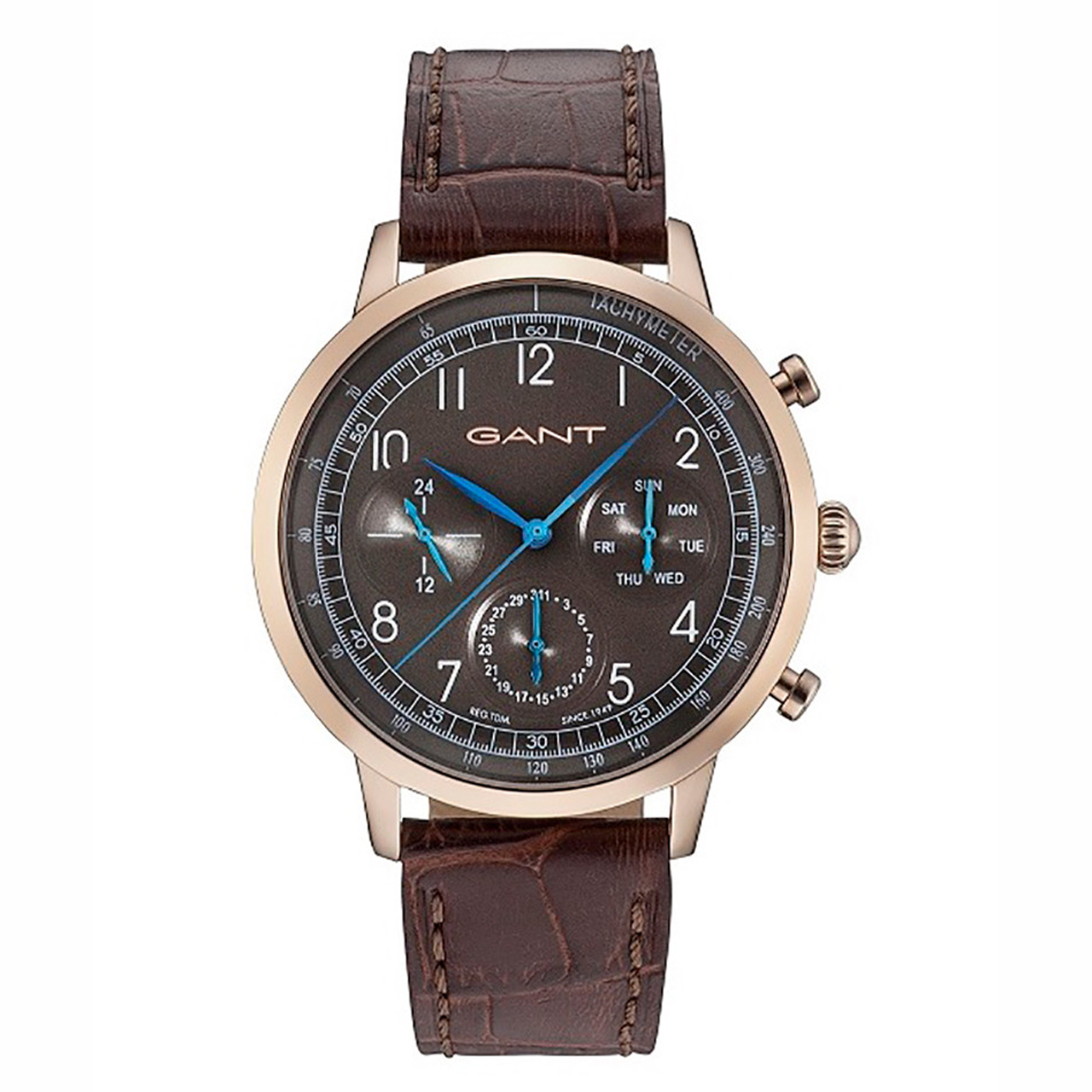 ساعت مچی عقربه ای مردانه گنت مدل GW71204