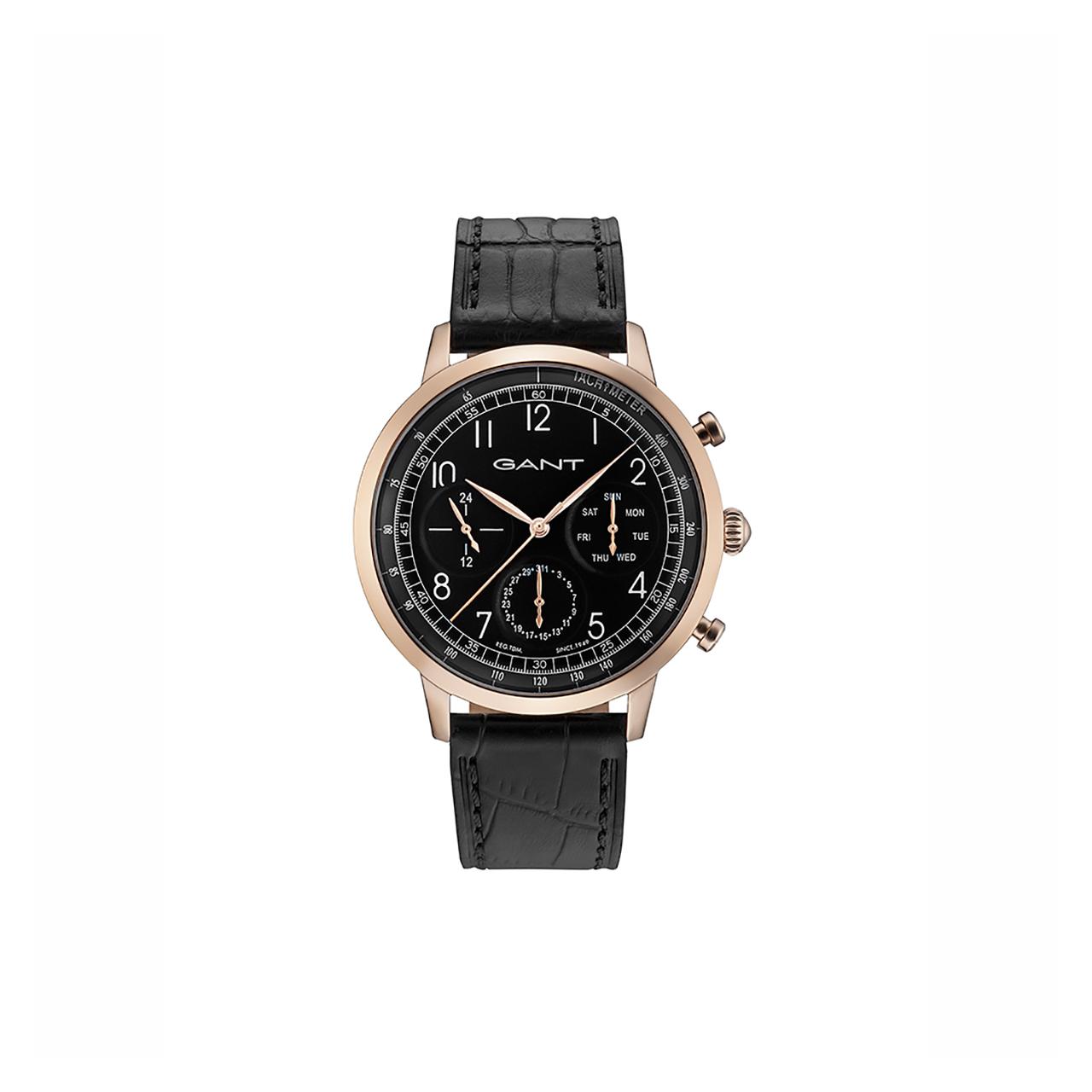 ساعت مچی عقربه ای مردانه گنت مدل GW71205