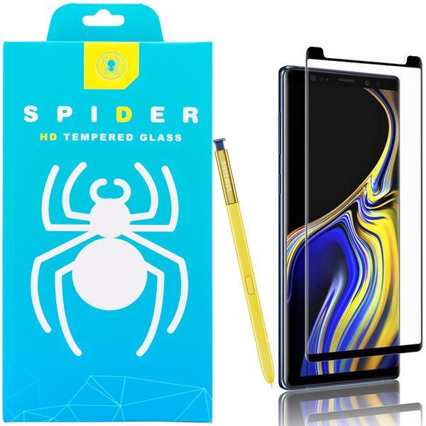 محافظ صفحه نمایش اسپایدر مدل Super Hard 5D مناسب برای گوشی موبایل سامسونگ galaxy Note 9