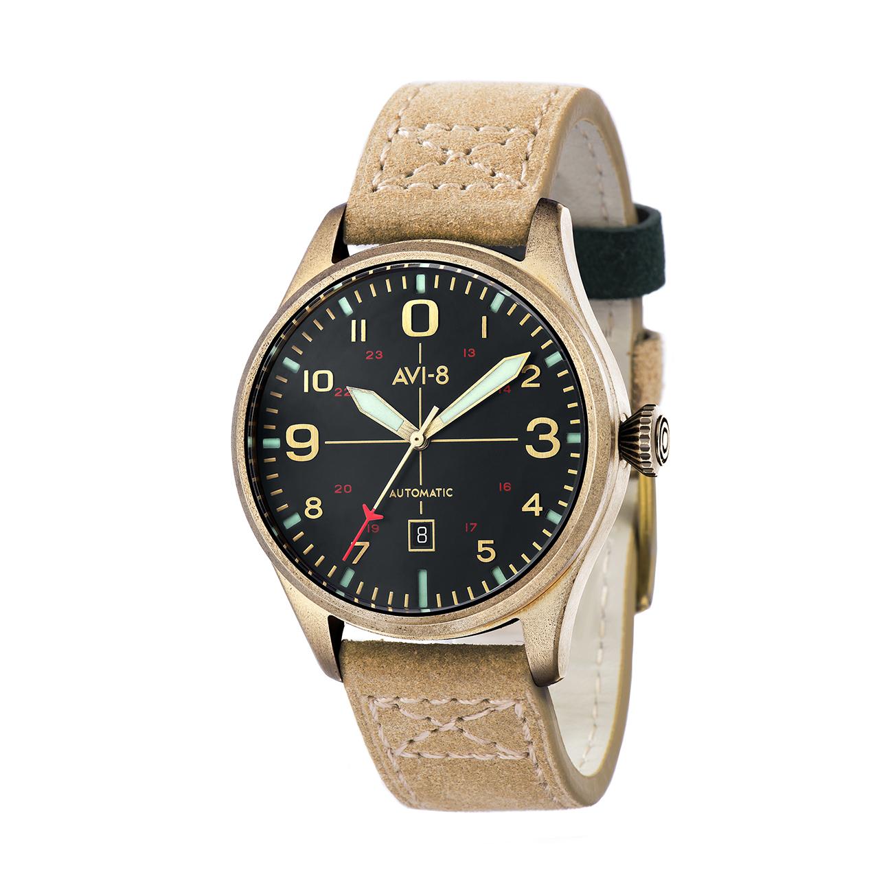 ساعت مچی عقربه ای مردانه ای وی-8 مدل AV-4042-01 55