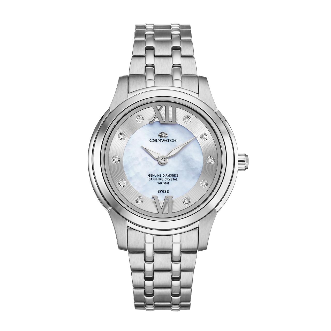ساعت مچی عقربه ای زنانه کوین واچ مدل C141SWH