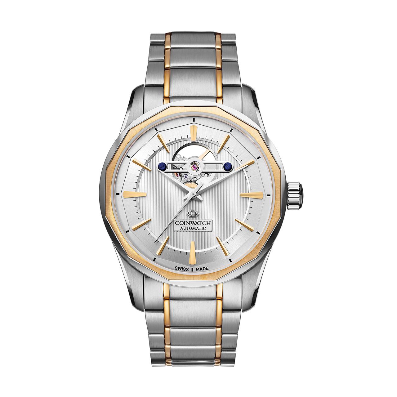 ساعت مچی عقربه ای مردانه کوین واچ مدل C142TWH