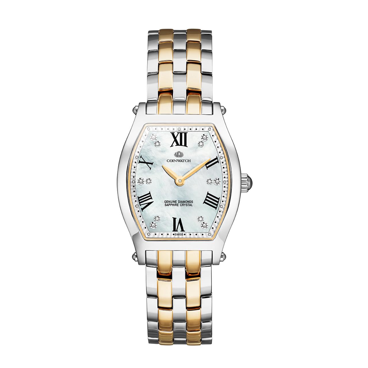 ساعت مچی عقربه ای زنانه کوین واچ مدل C145TWH