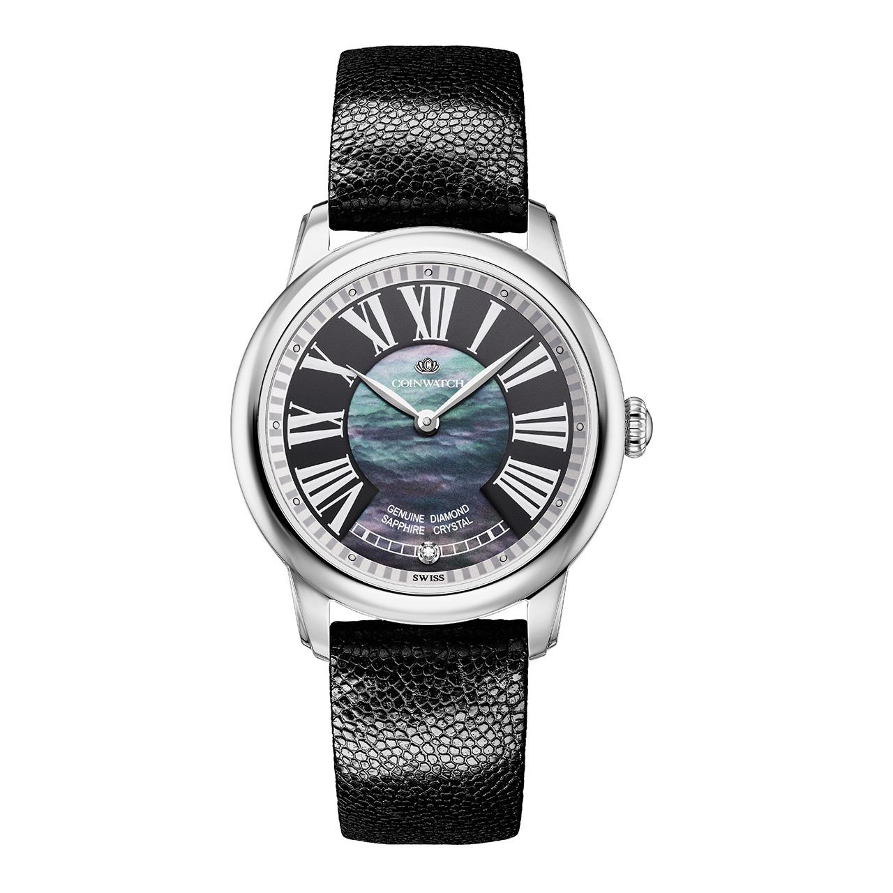 ساعت مچی عقربه ای زنانه کوین واچ مدل C158SBL
