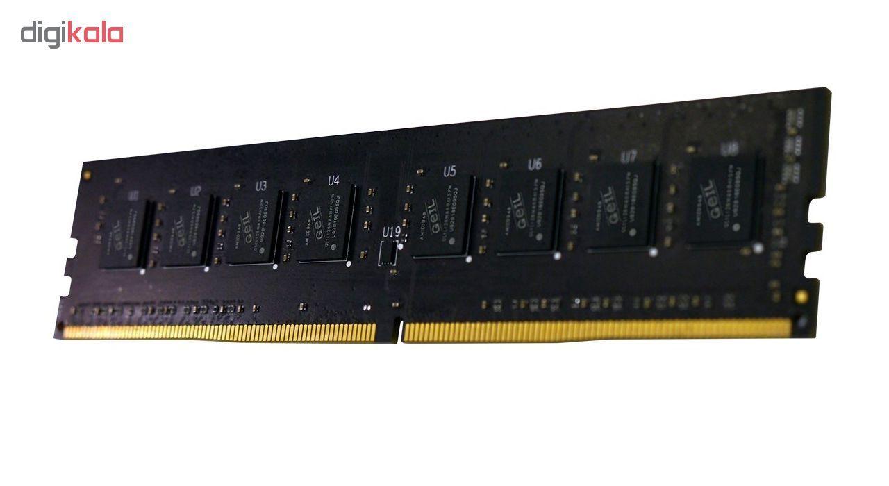 رم دسکتاپ DDR4 تک کاناله 2400 مگاهرتز CL17 گیل مدل Pristine ظرفیت 4 گیگابایت main 1 2