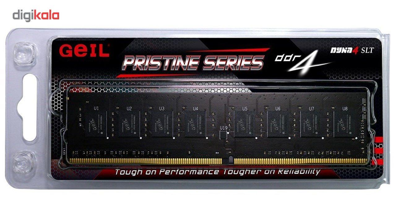 رم دسکتاپ DDR4 تک کاناله 2400 مگاهرتز CL17 گیل مدل Pristine ظرفیت 4 گیگابایت main 1 4