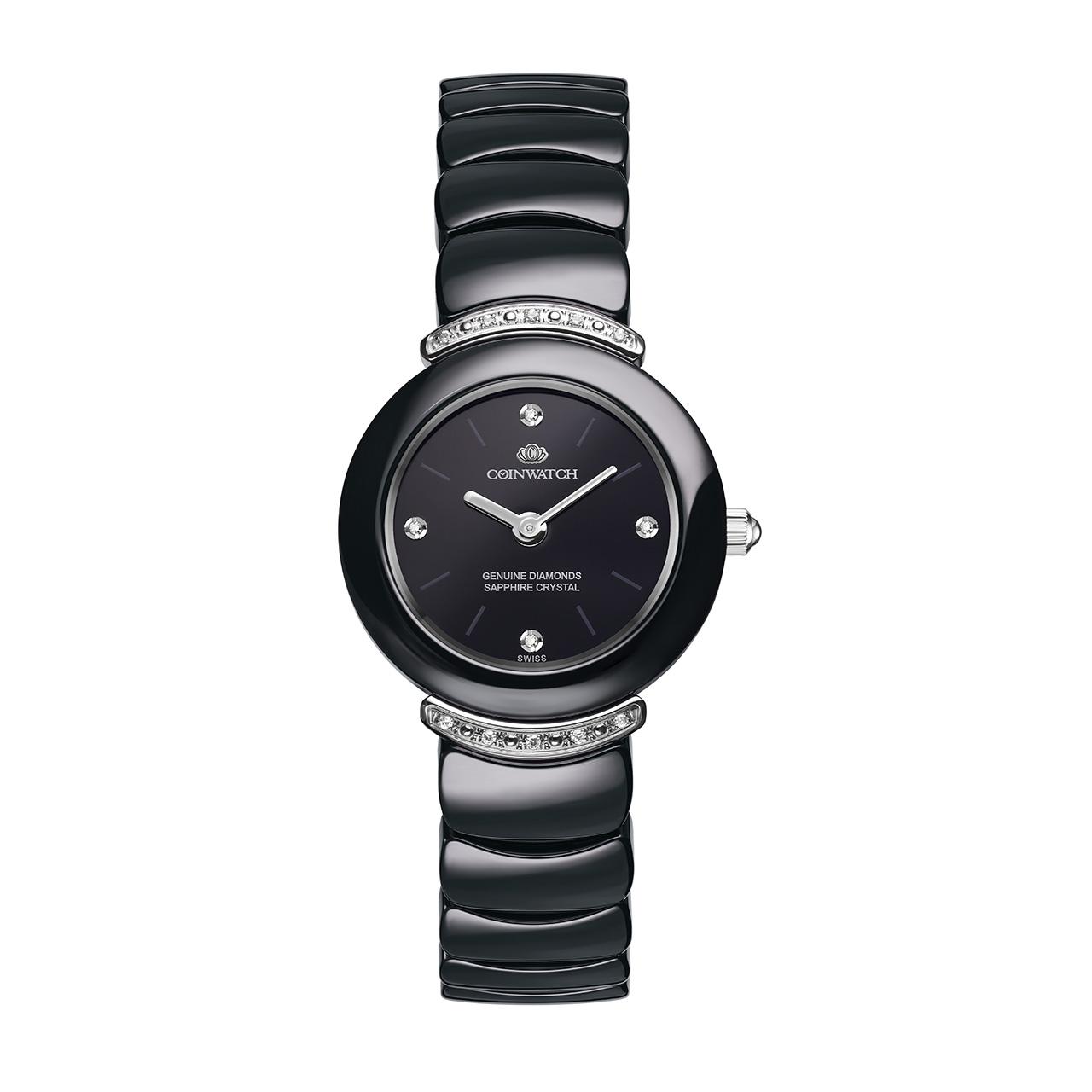 ساعت زنانه برند کوین واچ مدل C162SBK
