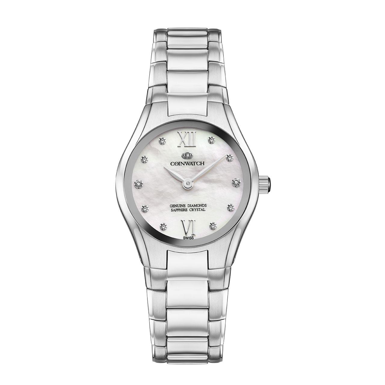 ساعت مچی عقربه ای زنانه کوین واچ مدل C168SWH 9
